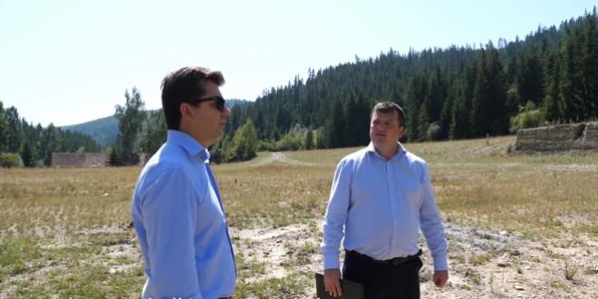 Demersuri în vederea construirii unei fabrici pentru producţia de excavatoare de gamă mică şi mijlocie în oraşul Bălan