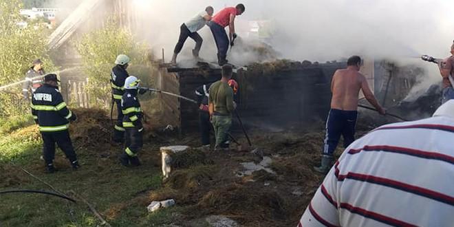 <h5><i>În decurs de trei zile:</i></h5> Pompierii militari au avut 34 de misiuni, majoritatea pentru acordarea asistenţei medicale