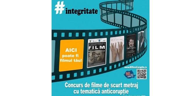 Proiect #Integritate 2020 – Concurs de filme de scurt, metraj cu tematică anticorupţie