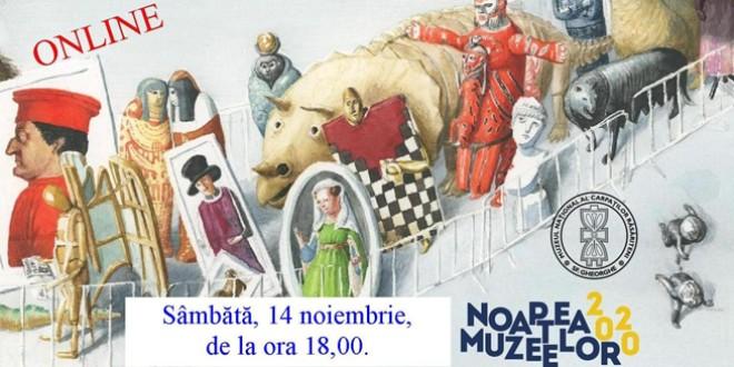 <h5><i>Sâmbătă, 14 noiembrie</i></h5> Noaptea Muzeelor, ediție online