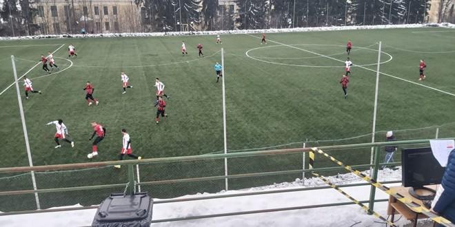 FC Miercurea Ciuc a înscris 6 goluri în primul meci de pregătire