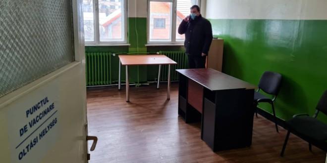 Autorităţile locale din fostul oraş minier Bălan speră că se va deschide în curând un centru de vaccinare şi în această localitate