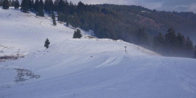Fotografii arheologice, realizate pe timp de iarnă, cu situl de la Păuleni-Ciuc