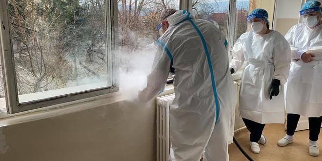 Aparat de curățenie și dezinfecție donat spitalului județean
