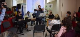 """Scriitorul Adrian Lesenciuc şi-a lansat """"Balada"""" la Miercurea Ciuc"""