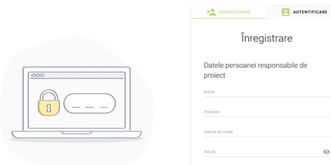 Platformă online dedicată apelurilor de proiecte lansate pentru finanţare nerambursabilă
