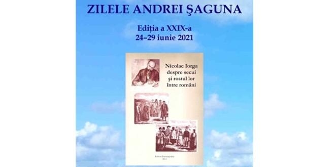 Zilele ANDREI ŞAGUNA, ediţia a XXIX-a