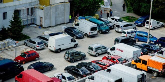 Miercurea Ciuc: Măsuri pentru fluidizarea traficului rutier în curtea Pieţei Agroalimentare şi pe str. Culmei