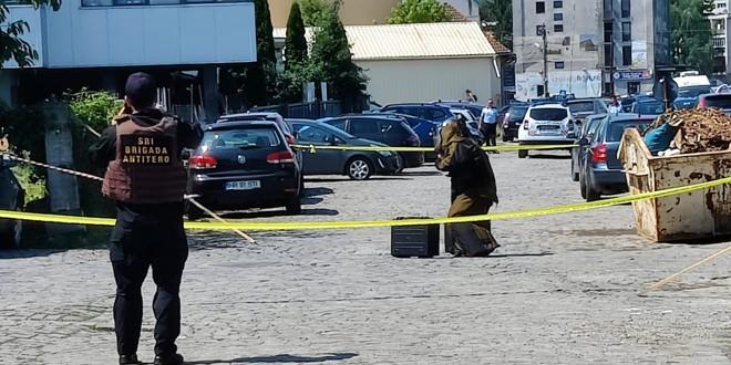 Coletul suspect din Odorheiu Secuiesc era o geantă goală