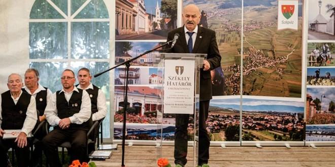 """<h5><i>Încă o mare investiţie în """"imperiul spiritual"""" al maghiarilor:</i></h5>Centrul Memorial al Grănicerilor Secui, inaugurat la Frumoasa"""