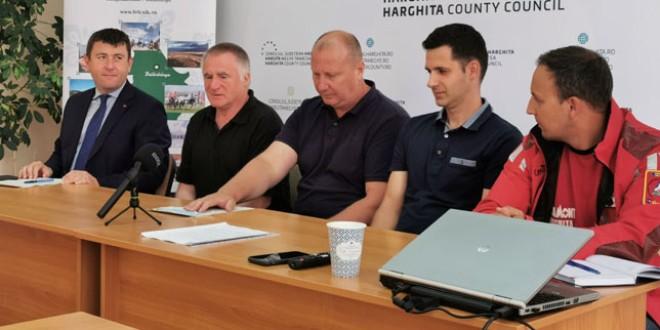 Concurs pentru realizarea hărţii digitale a traseelor de cicloturism în Ciucul de Sus