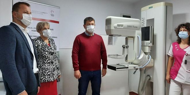 Screening mamar la Vlăhiţa
