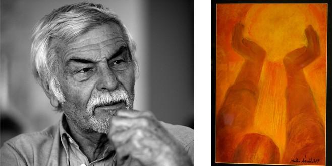 Artistul Márton Árpád sărbătorit la 80 de ani şi încă 1